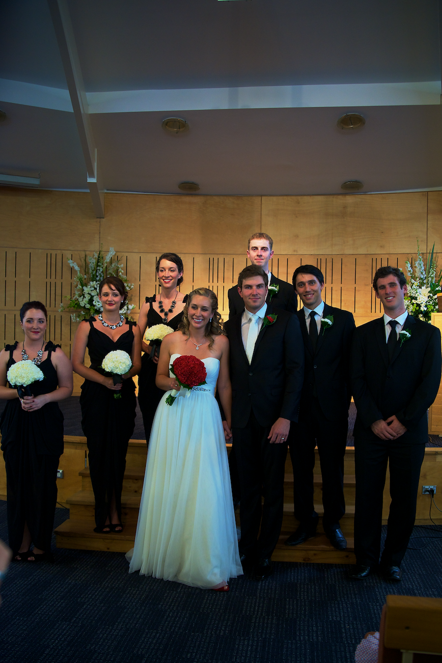 James & Kym Oram - Bridal Party